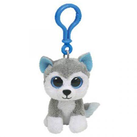 בובת TY מחזיק מפתחות עיניים גדולות- הכלב סלאש