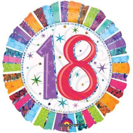 בלון מיילר 18 HB - יום הולדת 18 קורן