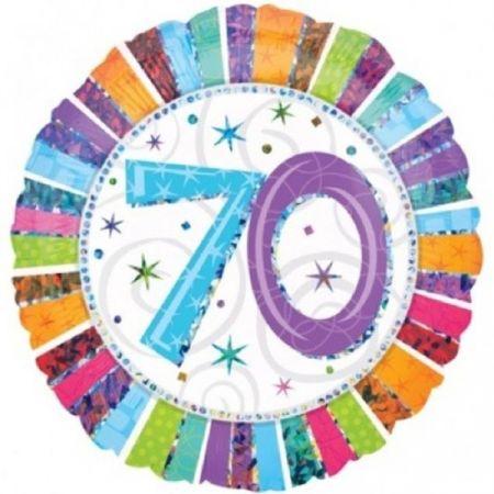 בלון מיילר 18 HB - יום הולדת 70 קורן