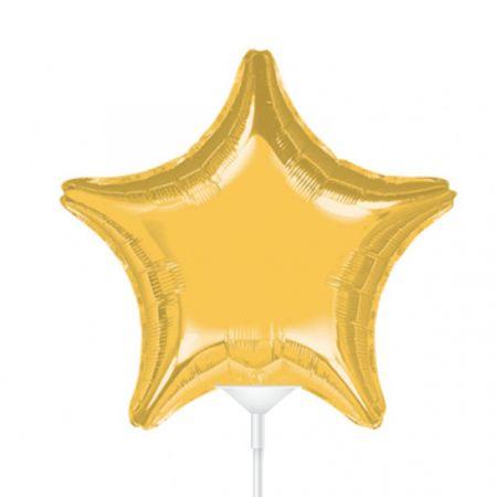 בלון על מקל 9- כוכב זהב