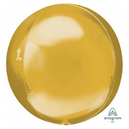 בלון מיילר 15- תלת מימד זהב 1 יח
