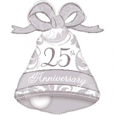 בלון מיילר 26 איחולים - יום נישואים 25 שנה