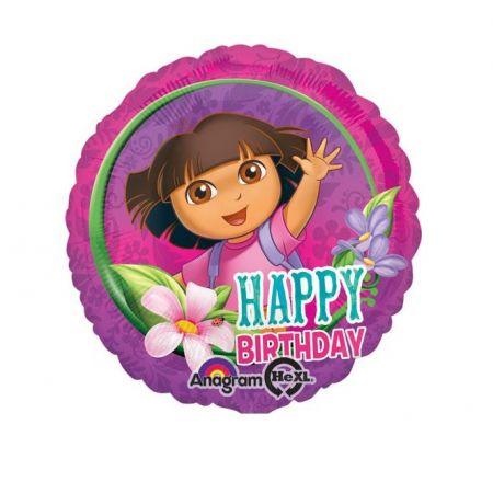 בלון מיילר 18- דורה יום הולדת שמח
