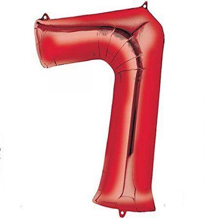 בלון מיילר 36- ספרה 7 אדום