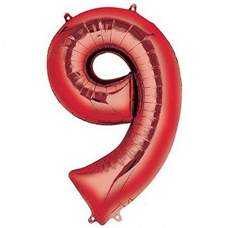 בלון מיילר 36- ספרה 9 אדום