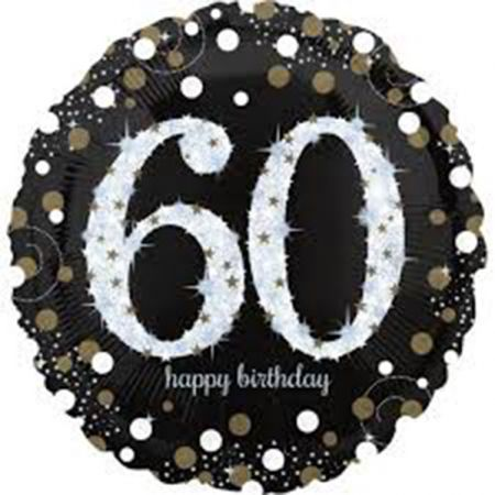 בלון מיילר 28- יום הולדת מנצנץ גיל 60