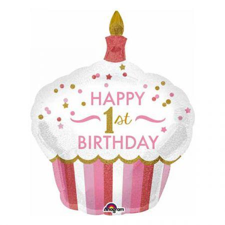 בלון מיילר 26- קאפקייק יום הולדת שנה בת