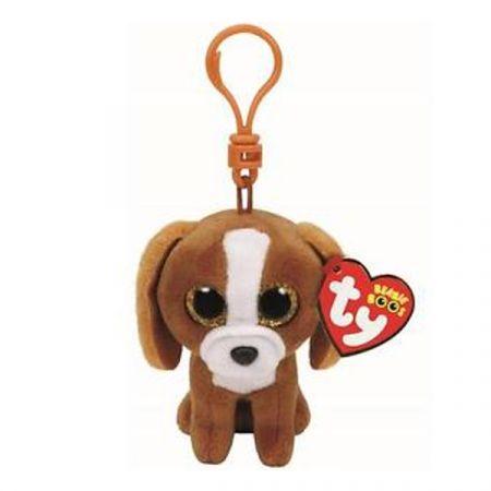 בובת TY מחזיק מפתחות כלב חום (1X3X108)