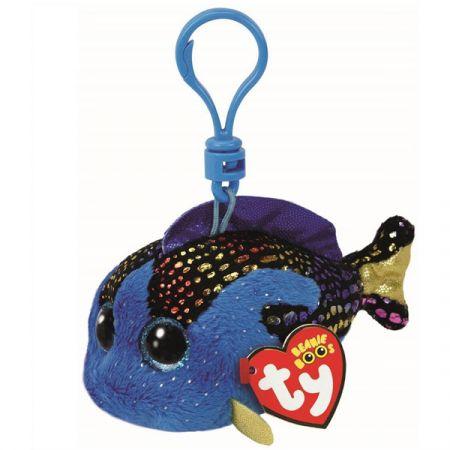בובת TY מחזיק מפתחות אקוואה דג כחול