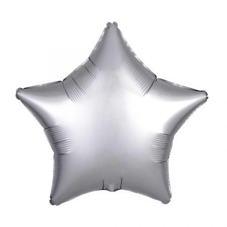 בלון מיילר 18- חלק כוכב כסף פלאטינום מט
