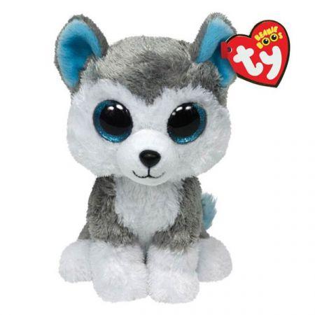 בובת TY עיניים גדולות (M) הכלב סלאש