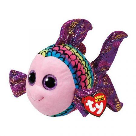 בובת TY עיניים גדולות (L) פליפי הדג