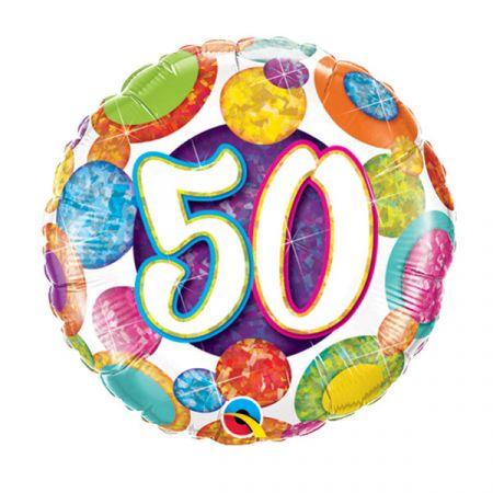 בלון מיילר Q18 יום הולדת גיל 50