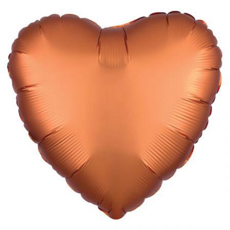 בלון מיילר 18- חלק לב נחושת כרום אנגרם