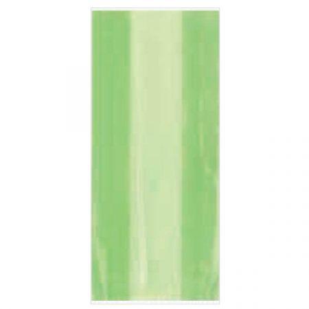 שקיות צלופן מלבן 30 יח צבע ירוק בהיר