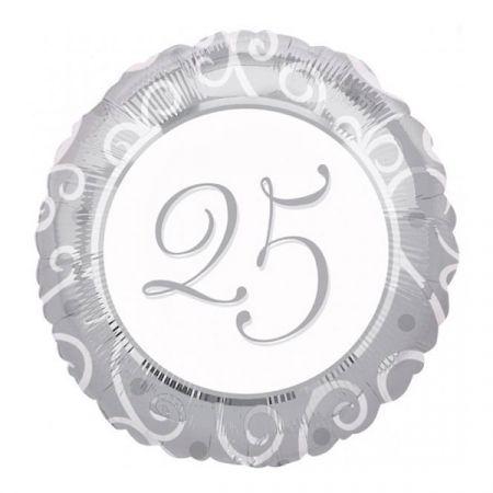 בלון מיילר 18 מסרים - יום נישואין 25 שנה