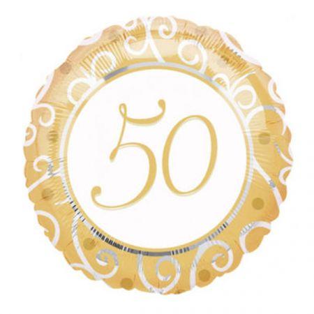 בלון מיילר 18 מסרים - יום נישואין 50 שנה