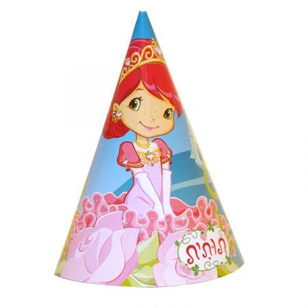כובעים ליום הולדת 6 יח - תותית