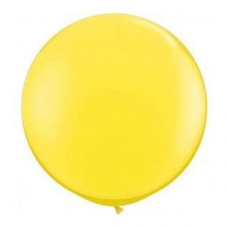 בלון Q3feet צהוב2 יח בשקית (מחיר ליח)