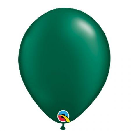 בלון Q11 פרל ירוק יער - 100 יח