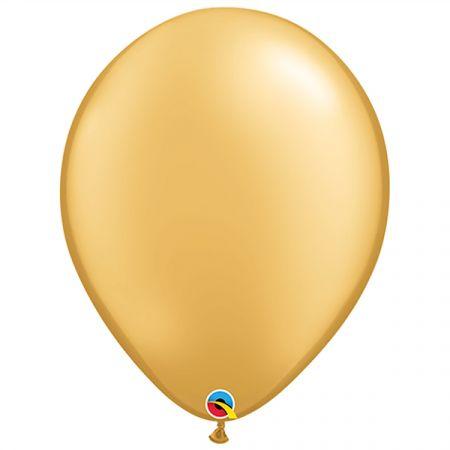 בלון Q16 זהב מטאלי - 50 יח