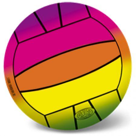 כדור משחק 23 סמ PVC - דגם כדורסל - צבעי הקשת