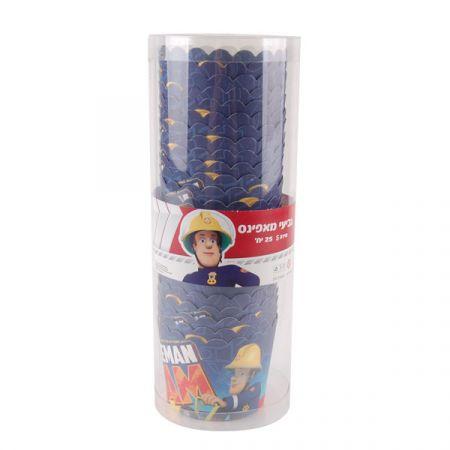 גביעי מאפינס קטנים 25 יח-דגם סמי הכבאי