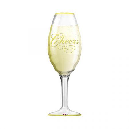 בלון מיילר 26 צורות - כוס שמפניה