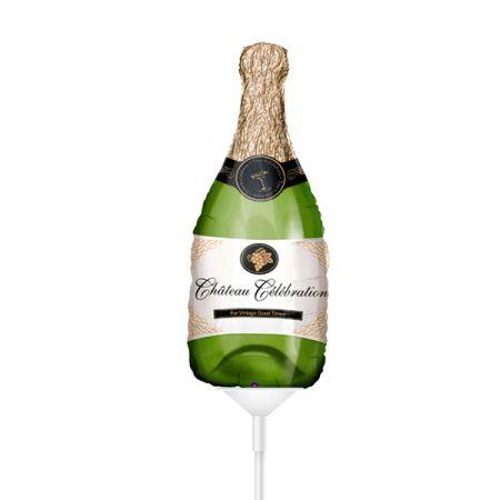 בלון על מקל Q14- שמפניה