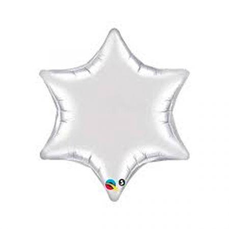 בלון על מקל 9- כוכב כסף