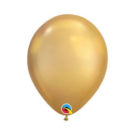 בלון Q11 כרום זהב - 100 יח