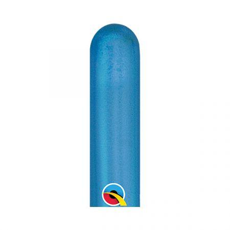 בלון Q260 כרום כחול - 100 יח