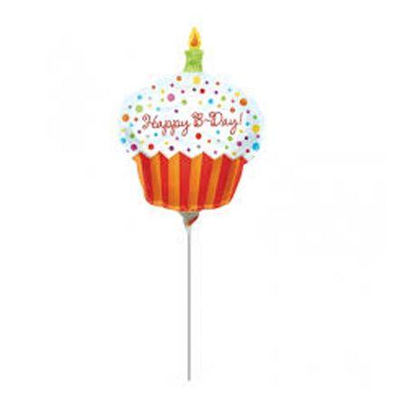 בלון על מקל 9- קאפקייק יום הולדת