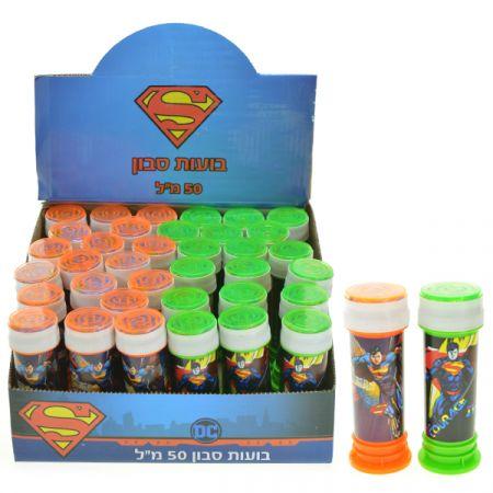 בקבוק בועות סבון 50 מל סופרמן
