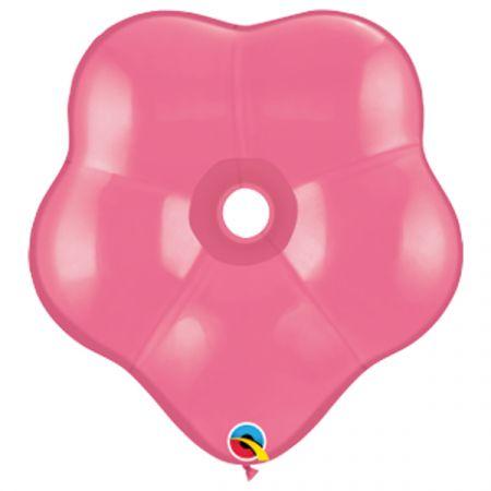 בלון Q16 בצורת פרח רוז - 50 יח