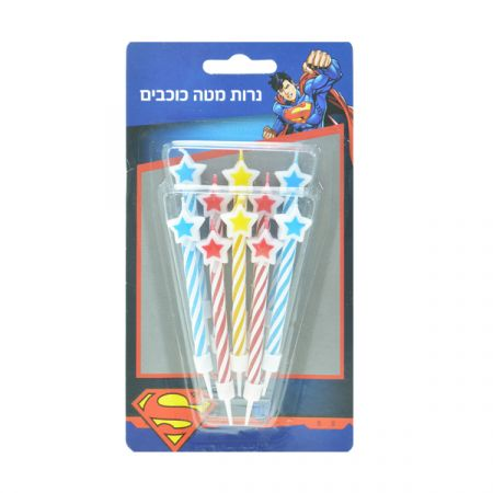 נרות מטה כוכבים - סופרמן