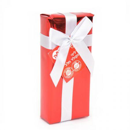 פרליני שוקולד באריזת מתנה אדום 48 גר'