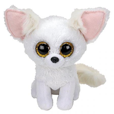 בובת TY עיניים גדולות (S) פניקס שועל לבן