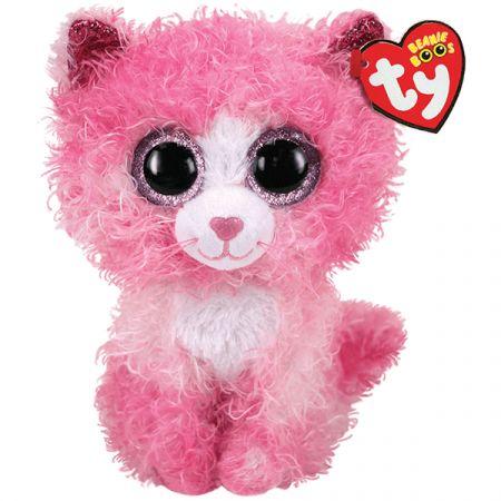 בובת TY עיניים גדולות (S) רייגן חתולה ורודה