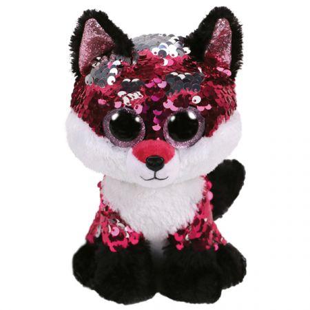 בובת TY- עיניים גדולות פאייטים (M)- גול השועל