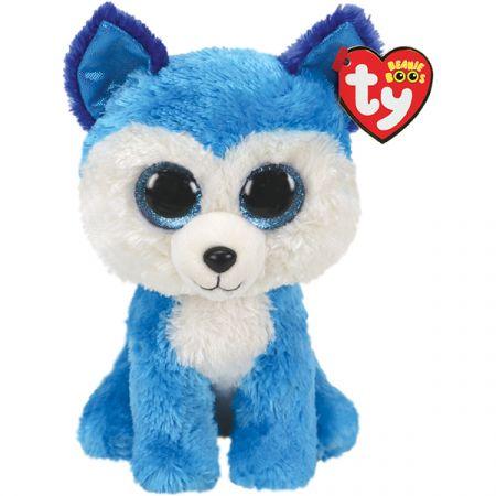 בובת TY עיניים גדולות (M) פרינס - האסקי כחול