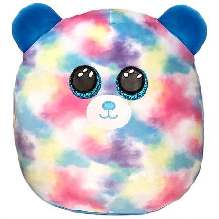 בובת TY עיניים - כרית חיבוקי ''14 - הופ - דוב צבעי פסטל