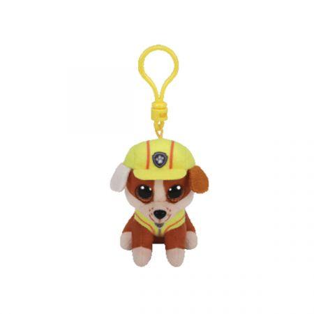 בובת TY מחזיק מפתחות עיניים גדולות-ראבל כלב בולדוג