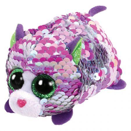 בובת TY- טיני טיי פאייטים- לילך החתולה הסגולה