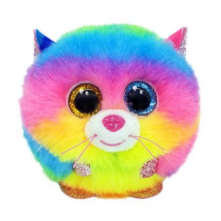 בובת TY עיניים גדולות - פאפיז - גיזמו החתול בצבעי הקשת