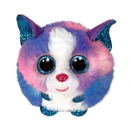 בובת TY עיניים גדולות - פאפיז -קליאו הכלב האסקי צבעוני