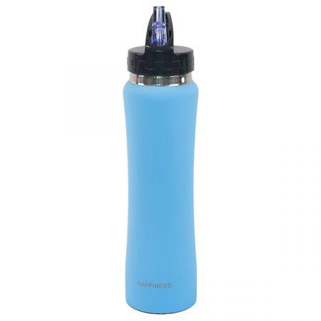 בקבוק נירוסטה 500 מל - דופן כפולה כחול
