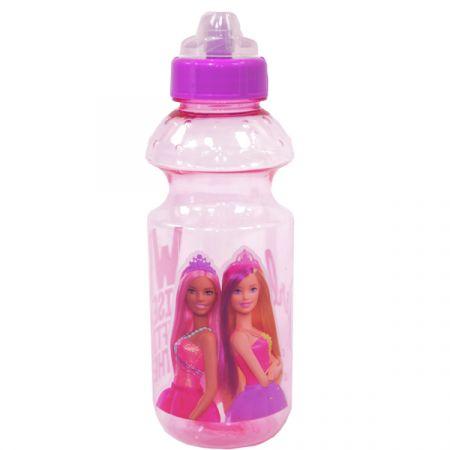 בקבוק פלסטיק 500 מ''ל עם פיה מסתובבת - ברבי (36*1)