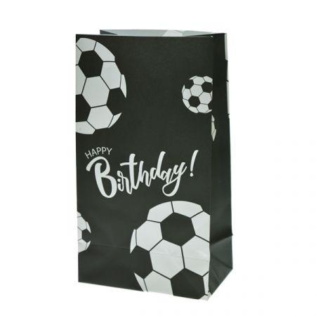 שקית נייר בסיס 6 יח - כדורגל