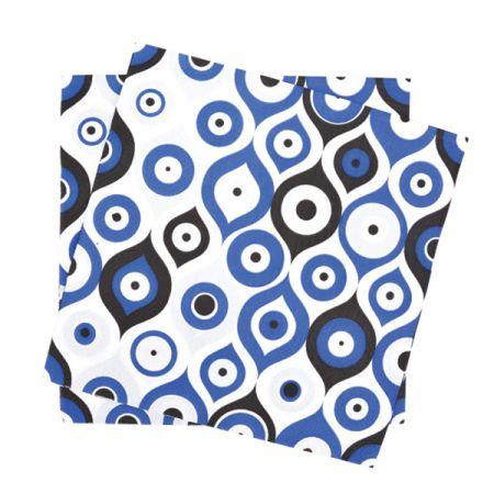 מפיות נייר 2 שכ 33X33 סמ 20 יח- עיניים כחולות